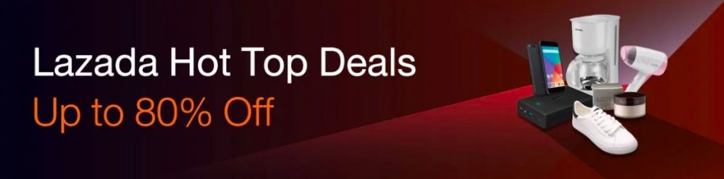 Lazada hot top deals